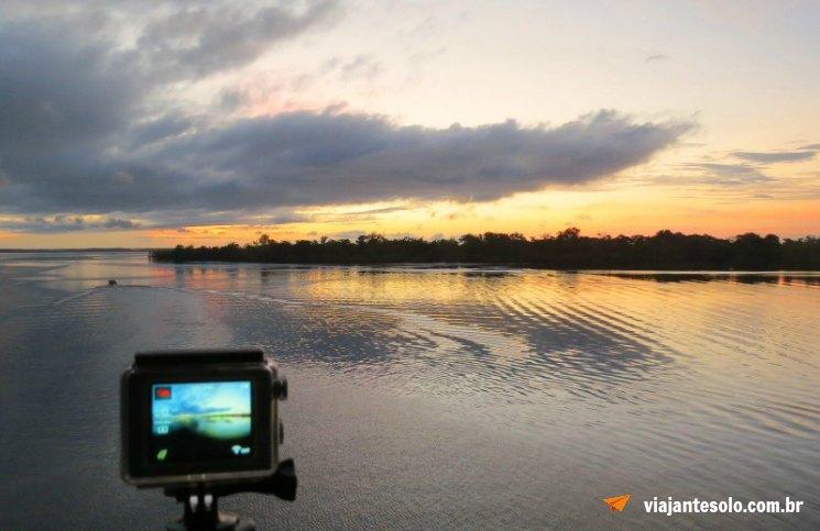 Rio Negro Nascer do Sol | Viajante Solo