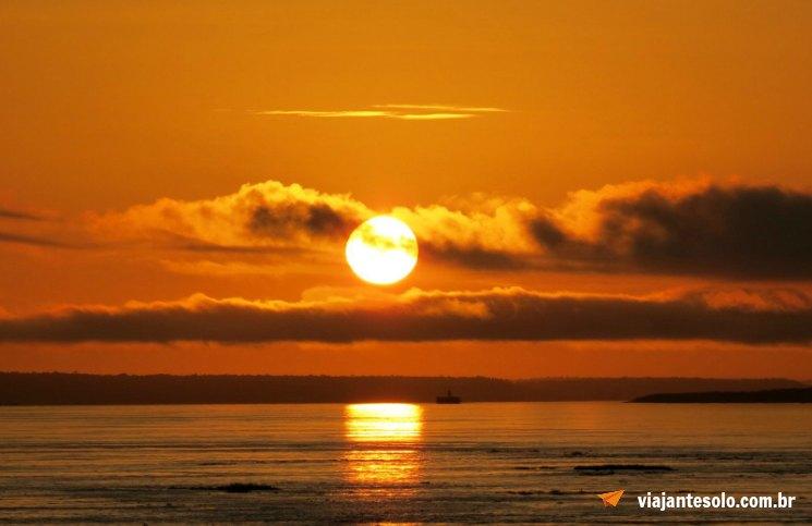 Rio Negro Nascer do Sol Sexta | Viajante Solo