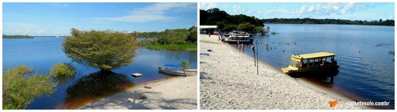 Rio negro Banho de Rio Tres Unidos | Viajante Solo