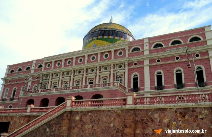 Manaus Teatro Amazonas | Viajante Solo
