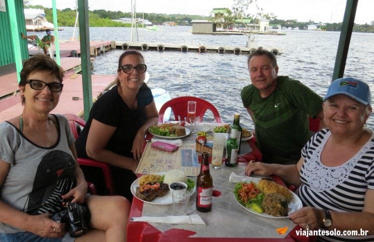 Almoço Abaré | Viajante Solo