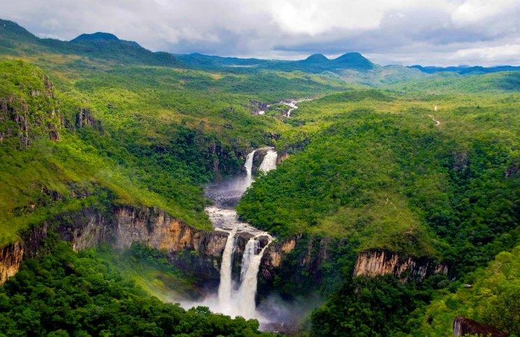 Pontos Turísticos em Goiás Parque Nacional da Chapada