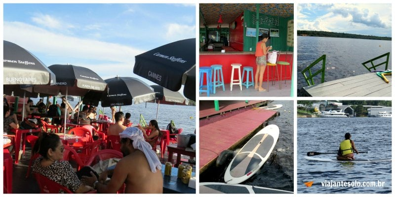 Flutuante Abare Ambiente | Viajante Solo