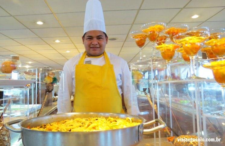 Iberostar Cozinha Internacional | Viajante Solo