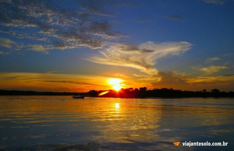 Lago Janauari Por do Sol | Viajante Solo