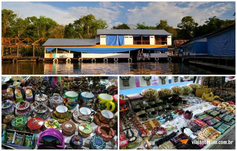 Lagoa Janauari Resaurante Rainha da Selva | Viajante Solo