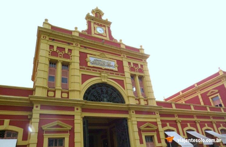 Roteiro Manaus Mercado Adolpho Lisboa | Viajante Solo