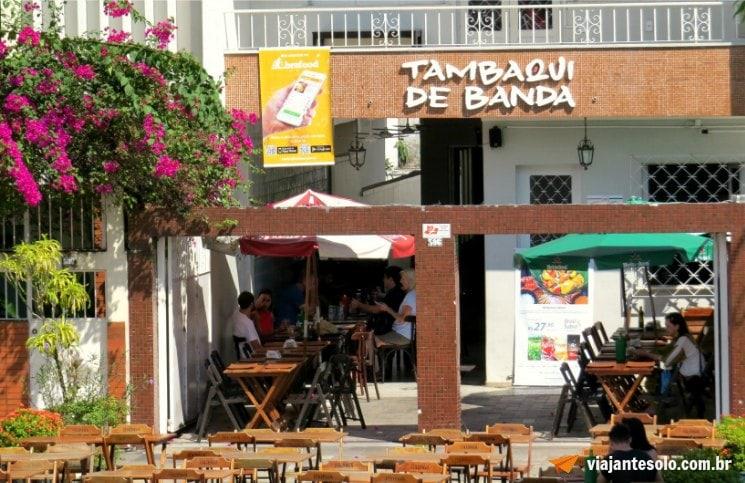 Comer em Manaus Tambaqui de Banda Fachada | Viajante Solo