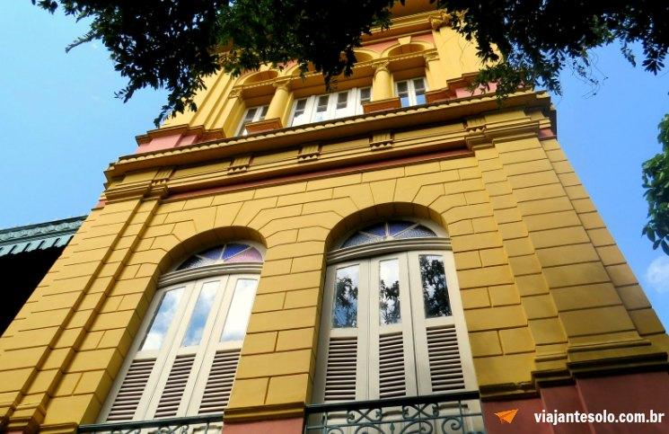 Roteiro Manaus Casa de Eduardo Ribeiro | Viajante Solo