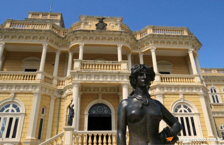 Roteiro Manaus Palácio Rio Negro | Viajante Solo
