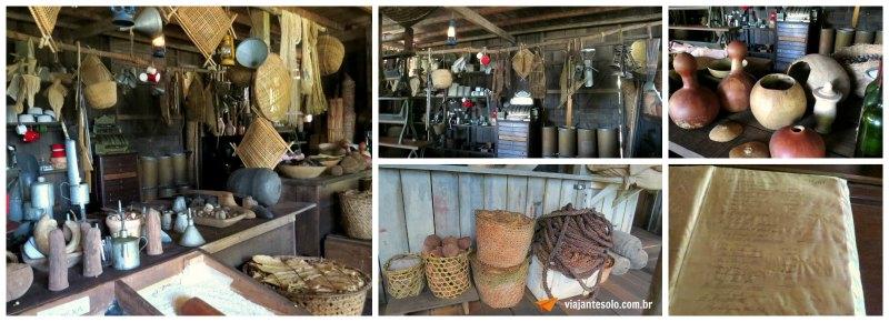 Museu do Seringal Barracão de Armazenamento | Viajante Solo
