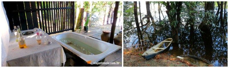 Museu do Seringal Casa de Banho | Viajante Solo