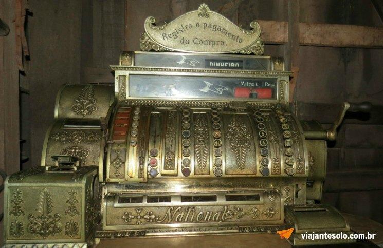 Museu do Seringal Máquina Registradora | Viajante Solo