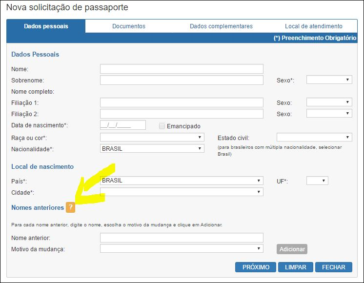 6 passos para tirar o passaporte brasileiro Tela 1-min