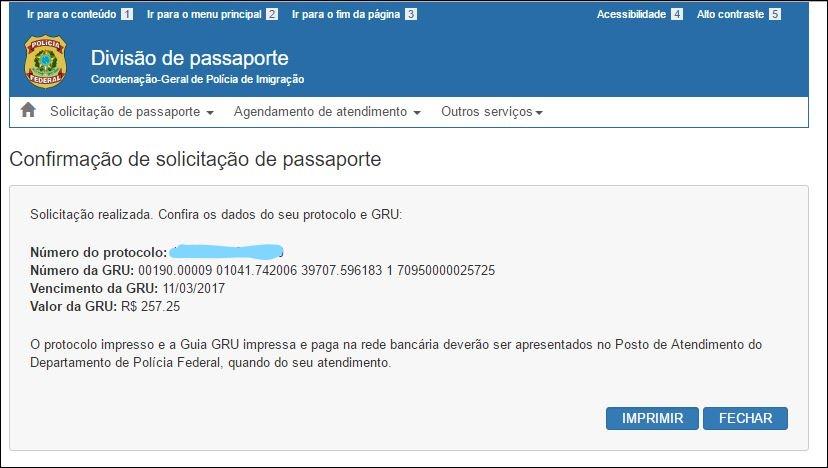 6 passos para tirar o passaporte brasileiro Tela 4