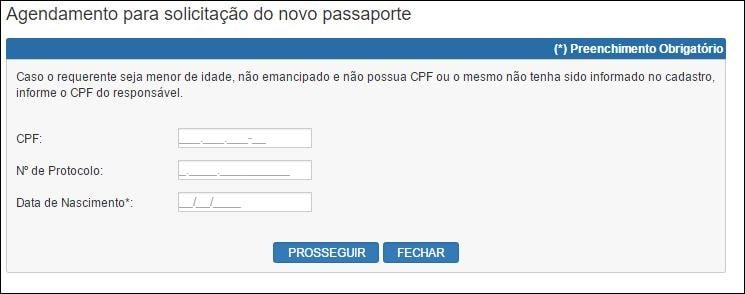 6 passos para tirar o passaporte brasileiro Tela 5