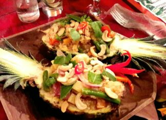 Mao Sut cozinha thai em ambiente despojado