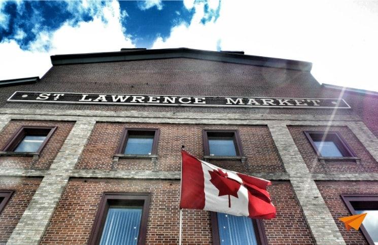 o que fazer em Toronto St Lawrence Market | Viajante Solo