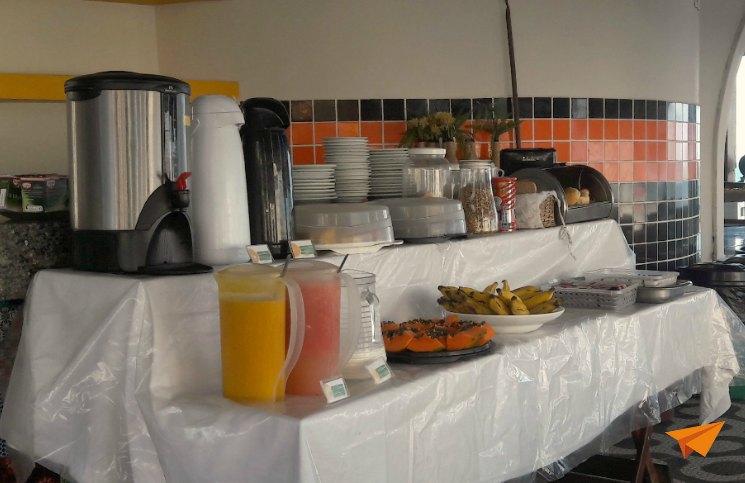 Onde ficar em Salvador Café da Manha Che Lagarto