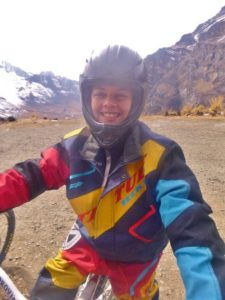 Sozinha na Bolívia Bike