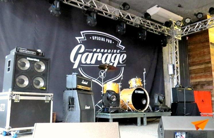 Paradise Garage Palco