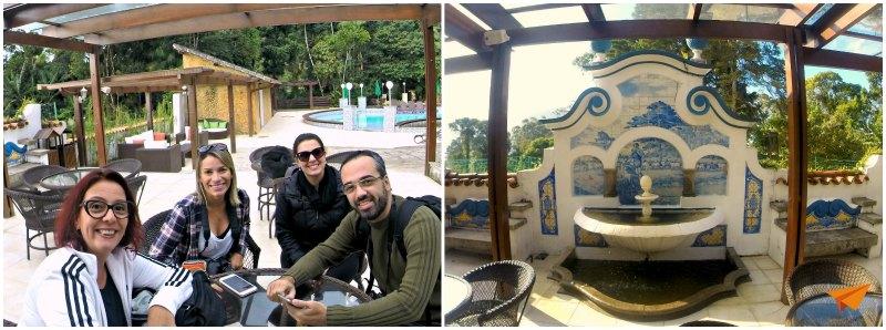 Pousada Tere Parque Area Externa Restaurante-min