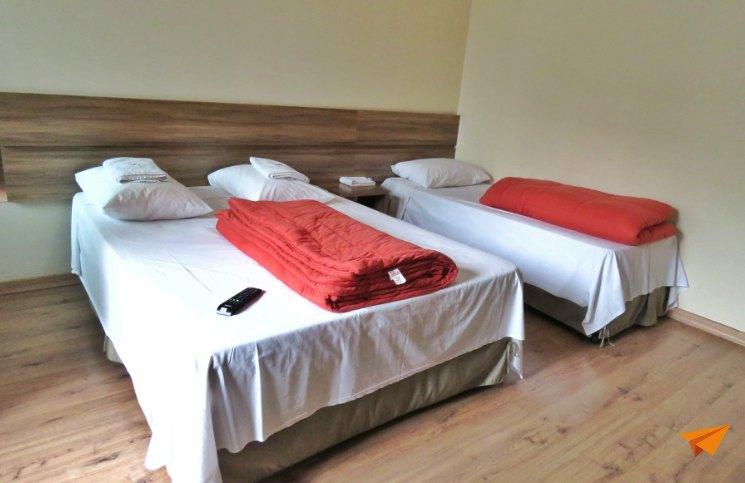 Hostel em Curitiba Roma Quarto