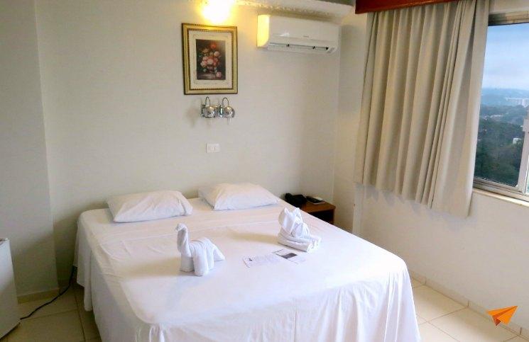 Hotel Economico em Foz do Iguaçu Quarto