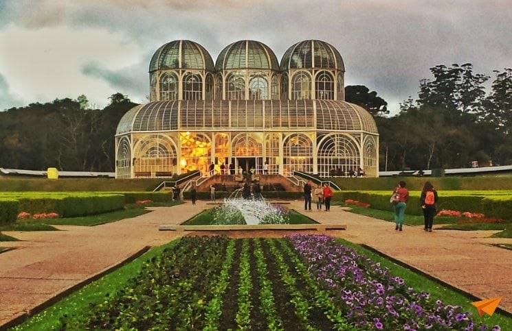 Passeios Gratuitos em Curitiba Jardim Botânico | Viajante Solo