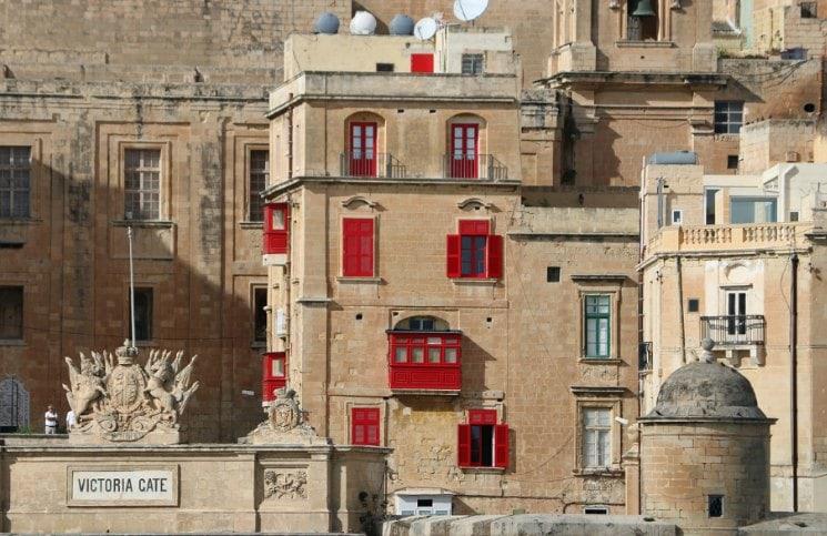 Sozinha em Malta Valleta