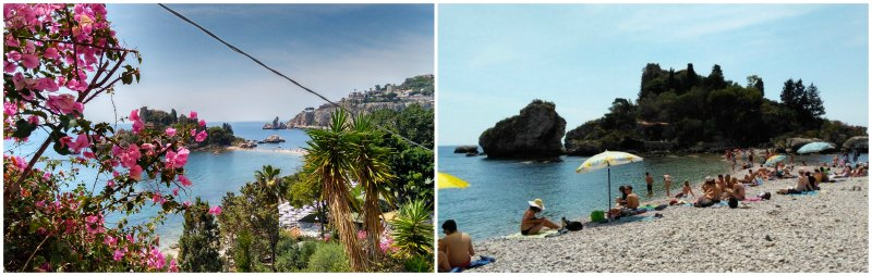 Sozinha na Sicília Isola Bella Taormina-min
