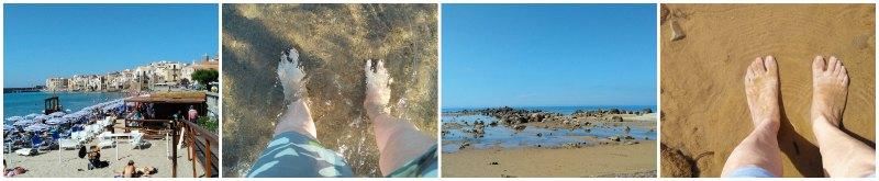 Sozinha na Sicilia Praias