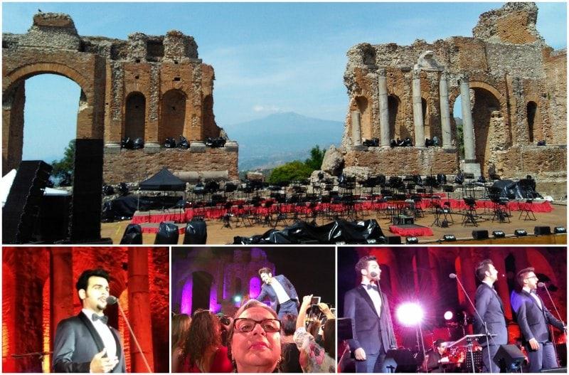 Sozinha na Sicilia Show Il Volo-min