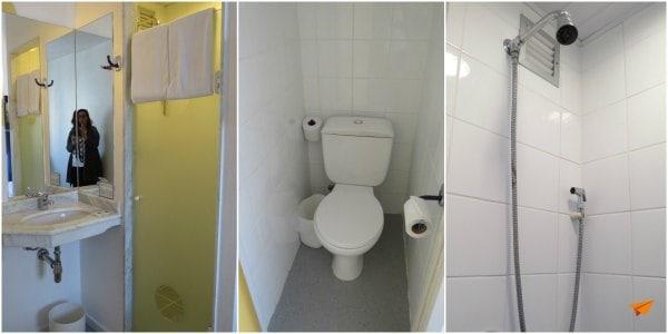 Hotel Econômico em Curitiba Ibis Budget Banheiro | Viajante Solo