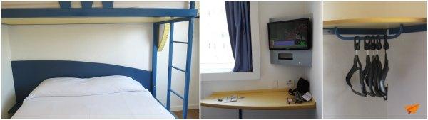 Hotel Econômico em Curitiba Ibis Budget Quarto 2 | Viajante Solo