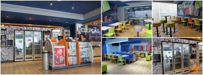 Hotel Econômico em Curitiba Ibis Budget Recepção | Viajante Solo