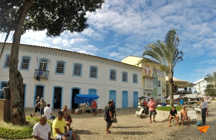 Passeio no centro histórico de Angra Casa Larangeira | Viajante Solo