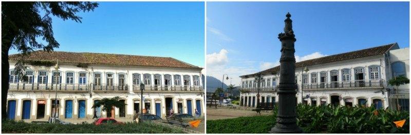 Passeio a pé no centro histórico de Angra Praça Chafariz | Viajante Solo