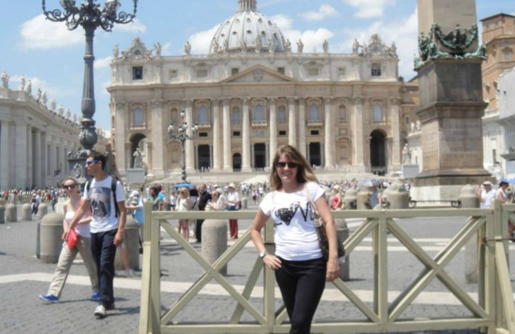 Sozinha em Roma Basílica de São Pedro