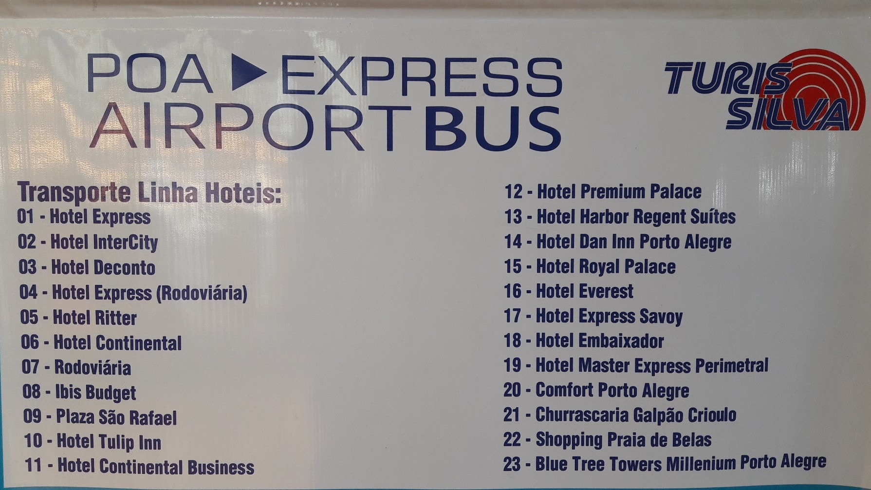 Poa Express Airport Bus