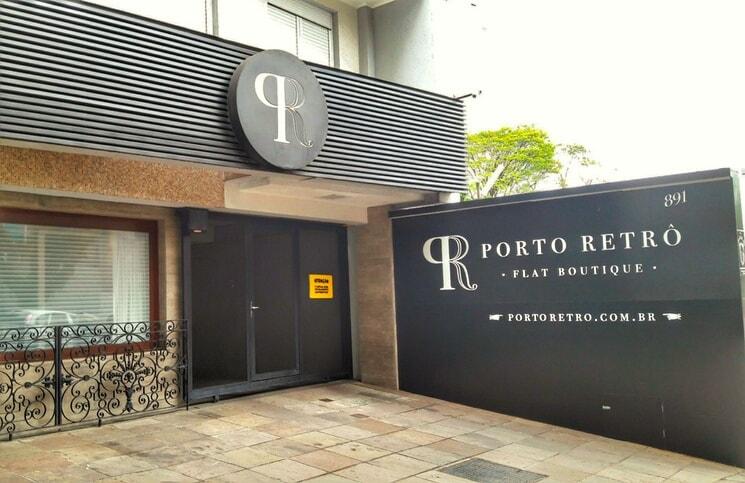 Onde Ficar em Porto Alegre Porto Retro Entrada