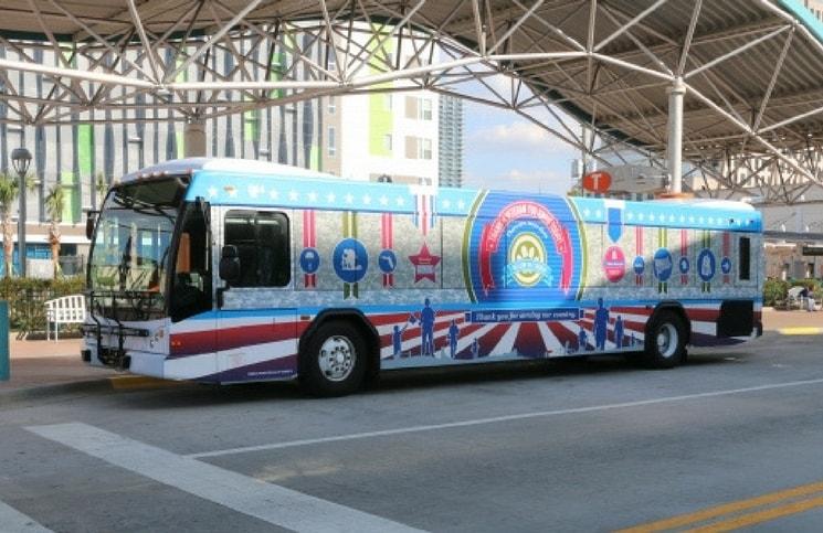 Como ir do Aeroporto de Orlando para a cidade Lynx Transporte Público
