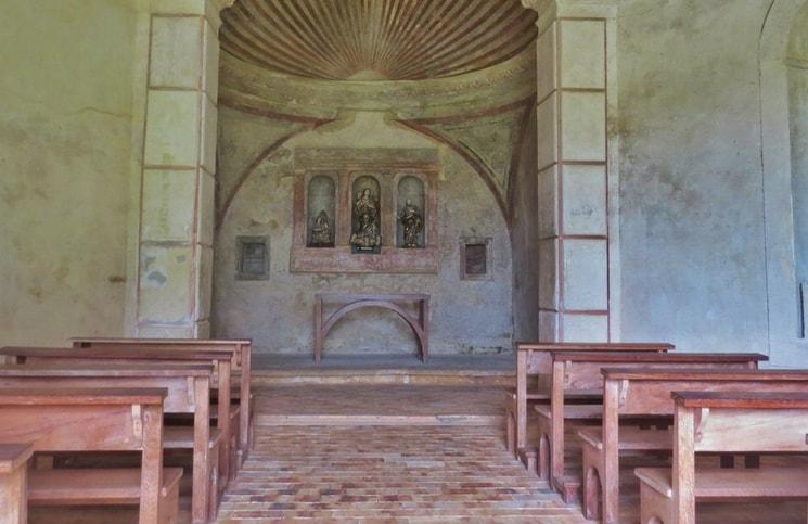 Visita ao Castelo Garcia D´Ávila Praia do Forte Capela (8)