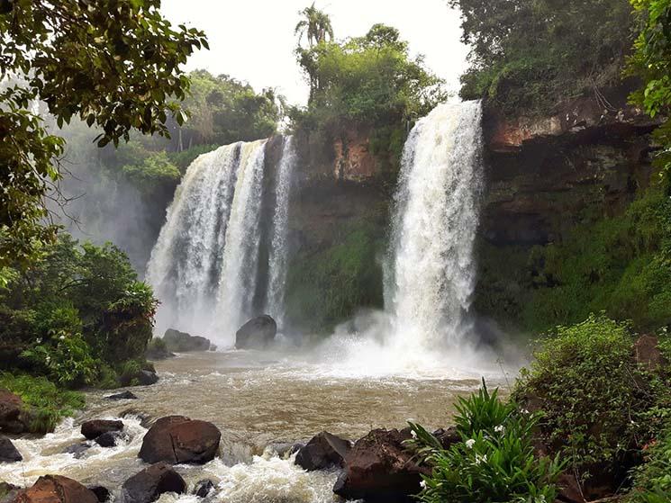 Cataratas Iguazu Circuito Inferior Foto Para Viagem