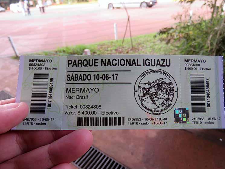 Cataratas do Iguazu Ingressos Viajante Solo