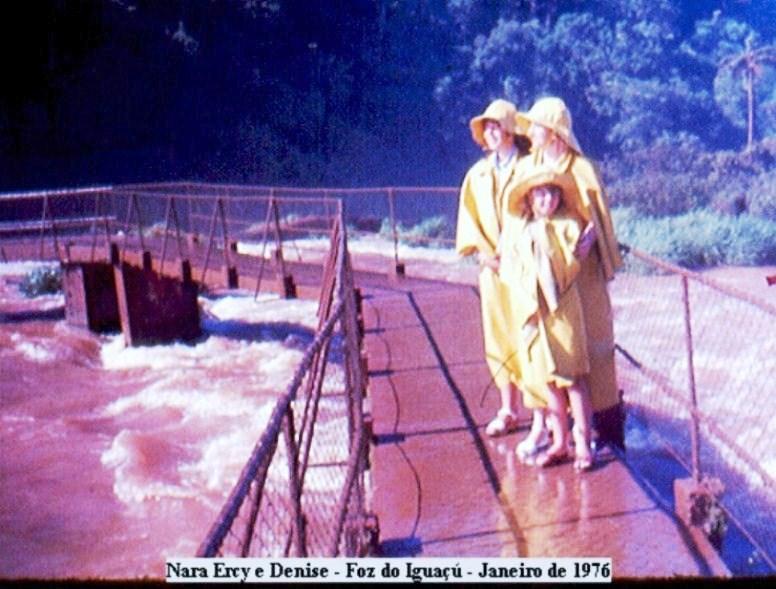 Foz do Iguaçú 1976 Viajante Solo