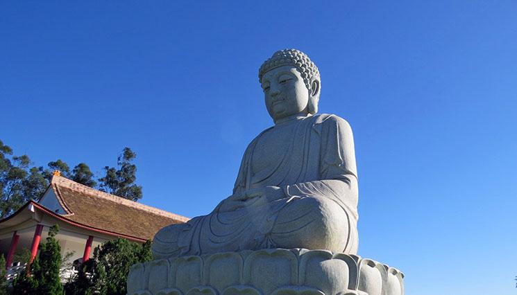 Visita ao Templo Budista de Chen Tien Siddhartha Gautama Pequeno
