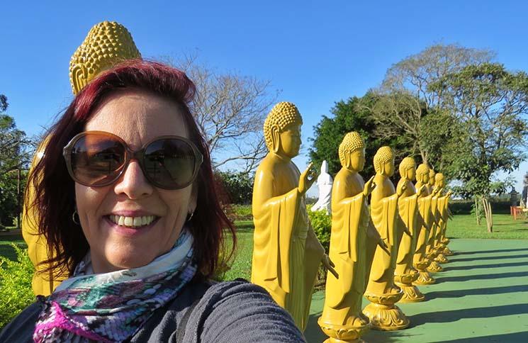 Visita ao Templo Budista de ChenTien Denise Tonin