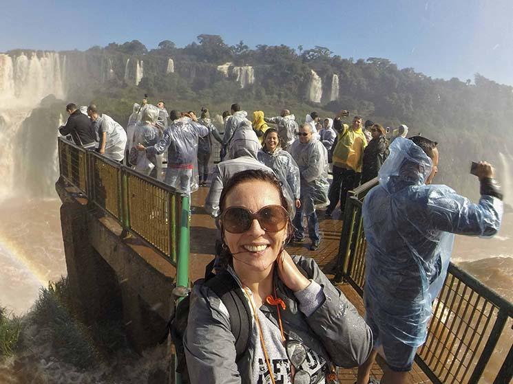 Cataratas do Iguaçu Passarela Denise Tonin Viajante Solo