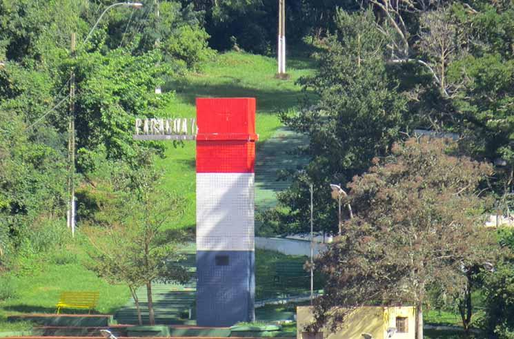 Hito de la Tres Fronteras Paraguai Viajante Solo